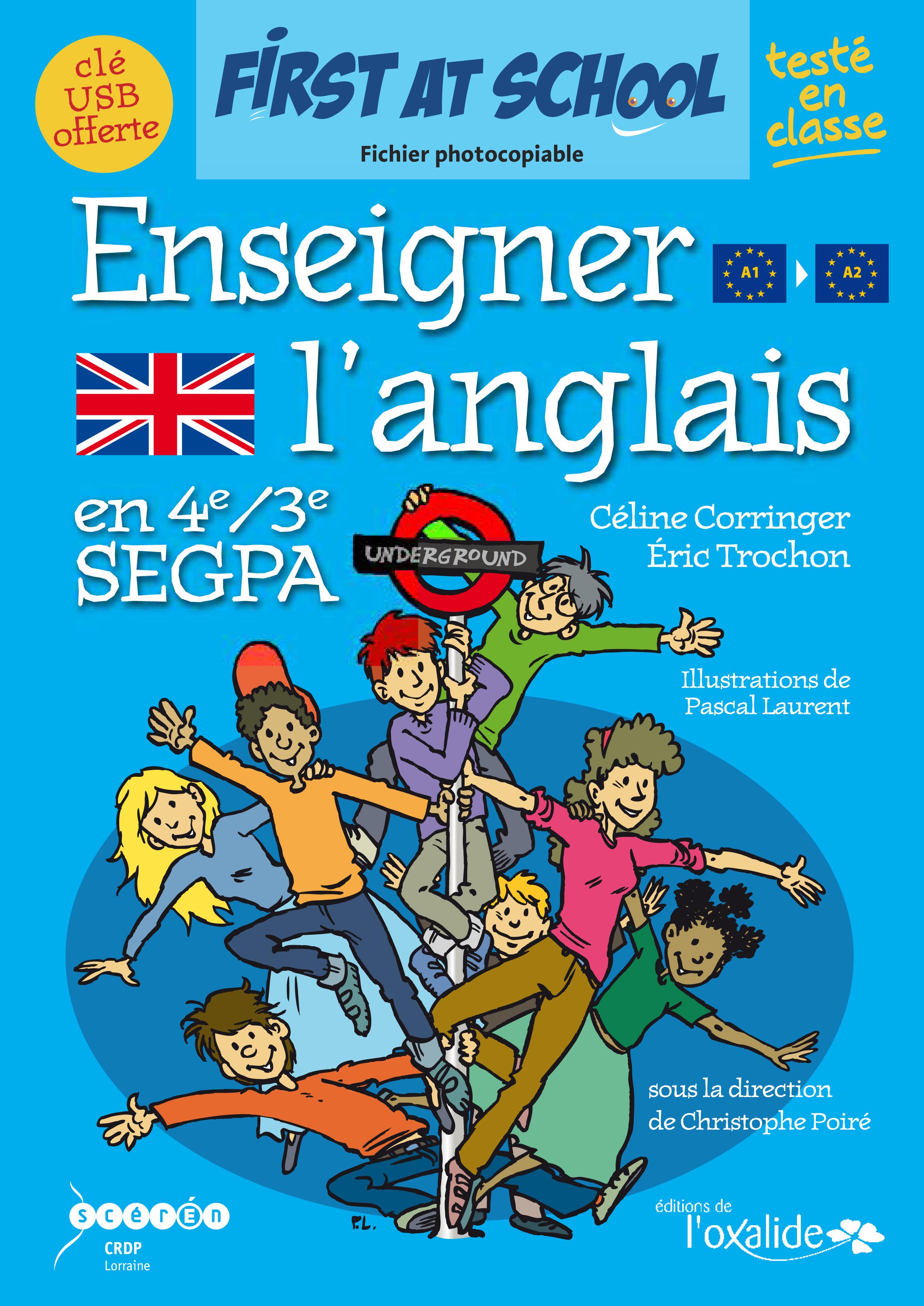 Editions De L Oxalide Enseigner L Anglais En 4e 3e Segpa