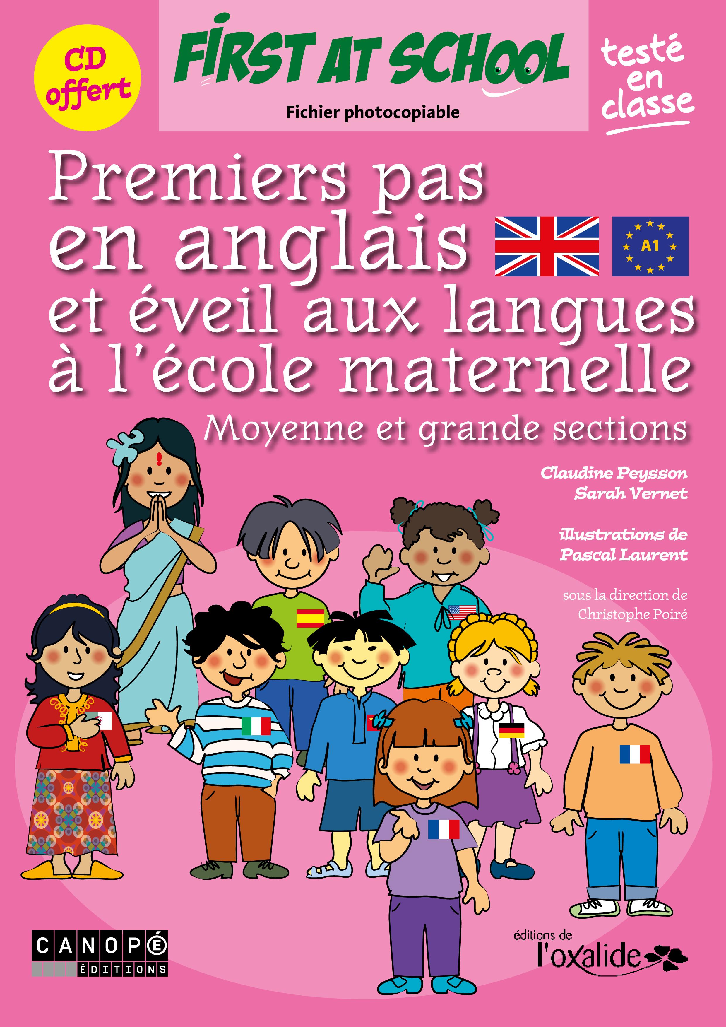 editions de l u0026 39 oxalide   premiers pas en anglais et  u00e9veil aux langues  u00e0 l u0026 39  u00e9cole maternelle